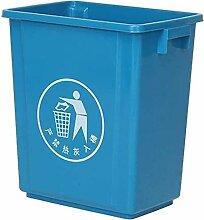 Garbage Stamm Uncovered Trash Can Kleine