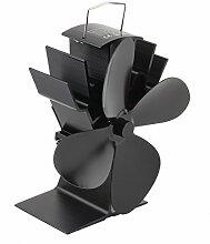 Garciadia Durable 4 Blades Aluminium Black Heat
