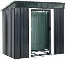 Gardebruk® Metall Gerätehaus Gartenhaus 2m² 2