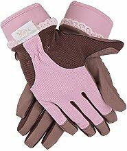 Garden Girl RH11X XL Classic Garten-Handschuhe–Pink/Braun