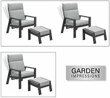 Garden Impressions - MAX Relax Sessel Diningsessel