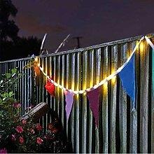Garden Mile Außen Garten Wimpel Solar