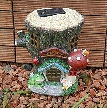 Garden Mile Farbenreich Gartenzwerg Aufleuchtend