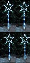 garden mile groß 4 Sternform LED