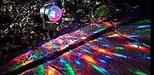 Garden Mile Kaleidoskop Karneval Scheinwerfer