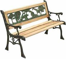 garden mile® Kinder-Gartenbank aus Holz für