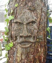 garden mile Realistisch Holz Geschnitzt Hobbit
