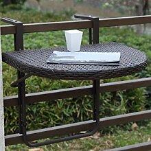 Garden Pleasure Balkon-Hängetisch Agra, klappbar