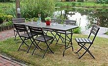 Garden Pleasure Gartentisch Klapptisch Tabora,