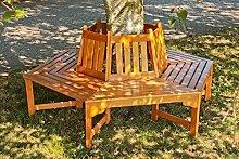 Garden Pleasure Holz Baumbank Ontario 6 eckig