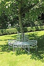 Garden Pleasure Metall Baumbank Varda Gartenbank