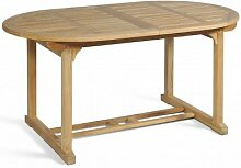 GARDEN PLEASURE Tisch SOLO, ausziehbar, oval,