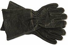 Garden Trading Stulpenhandschuhe-schwarz
