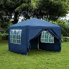 Garden Vida Pop-Up-Pavillon mit Seitenteilen, 2,5