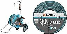 Gardena AquaRoll M Set: Schlauchwagen mit 20 m