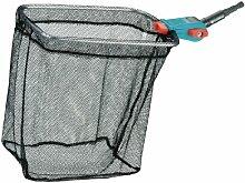 GARDENA combisystem-Teichreiniger Vario 2: Teich-Kescher inkl. grob- und feinmaschigem Netz, ideales Gartenzubehör zur einfachen Reinigung des Gartenteiches, passend zu allen combisystem-Stielen (3230-20)