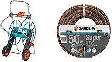 Gardena Metall Schlauchwagen 100: Stabile,