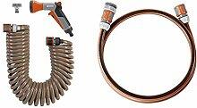 Gardena Spiralschlauch-Set 10 m: Spiralförmiger