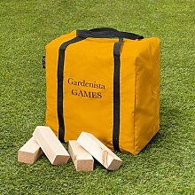 gardenista Spiele Holzblock 60 Teile Riese Wäschetrockner Tower Garten Spiel
