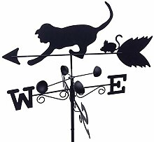 GardenMarketPlace Wetterfahne für Katzen und