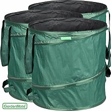 GardenMate® 3x Pop-up Gartensack 85l -