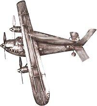 Garderobe  als Flugzeug  Metall