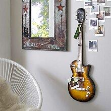 Garderobe als Gitarre  Metall