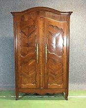 Garderobe aus Kirsche im Louis XV Stil aus 19.