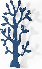 Garderobe Baum, blau