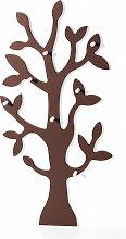 Garderobe Baum, braun (80/160/13 cm)