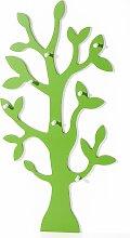 Garderobe Baum, grün (80/160/13 cm)