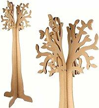 Garderobe Baum zum Dekorieren–MDF–120x 49x 1,2cm