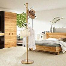 Garderobe Coat Stand Rack aus rostfreiem Stahl einfache Montage Kleiderbügel Landung kreative Racks ( Farbe : Gold , größe : A )