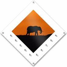 Garderobe »Elefant Orange - Office XL«