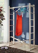 Garderobe faltbar Buche Massivholz Kleiderständer