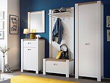 Garderobe Flurmöbel Garderobenmöbel Komplett Set