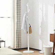 Garderobe freistehend 7 Haken Eingangsbereich Holz