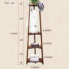 Garderobe Garderobe Boden Massivholz Kleiderbügel