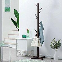 Garderobe Garderobe hölzerner Baum Kleiderbügel