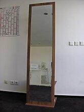 Garderobe Garderobenschrank Schrank mit Spiegel