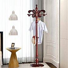 Garderobe Hut Rack Solid Holz hängen Kleiderbügel Schlafzimmer Einfache Hut Rack ( Farbe : S )