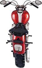 Garderobe im Motorrad Design Rot Schwarz