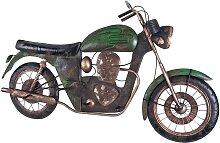 Garderobe in Motorrad Optik Metall