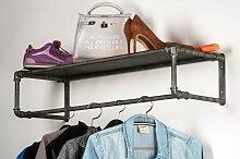 Garderobe Industrielook Laendlich Rustikal Modern