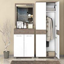 Garderobe Komplett - Set B Sagone, 3-teilig,