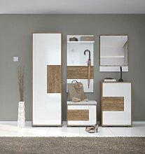 Garderobe Komplett - Set C Manase, 5-teilig,