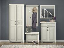 Garderobe Komplett - Set E Falefa, 5-teilig,