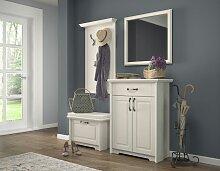 Garderobe Komplett - Set F Falefa, 4-teilig,