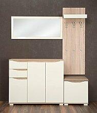 Garderobe Komplett - Set J Baeza, 3-teilig, Farbe: