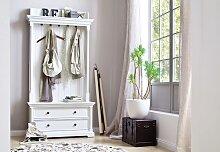 Garderobe Landhausstil weiß antik vintage Provence